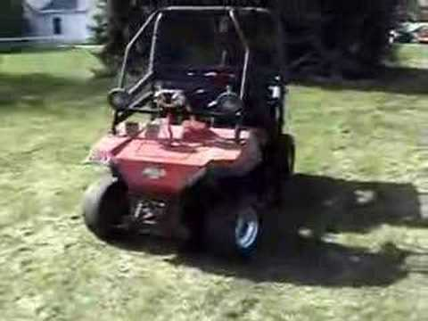 Kawasaki Mule With A Suzuki Gs750 Bike Engine
