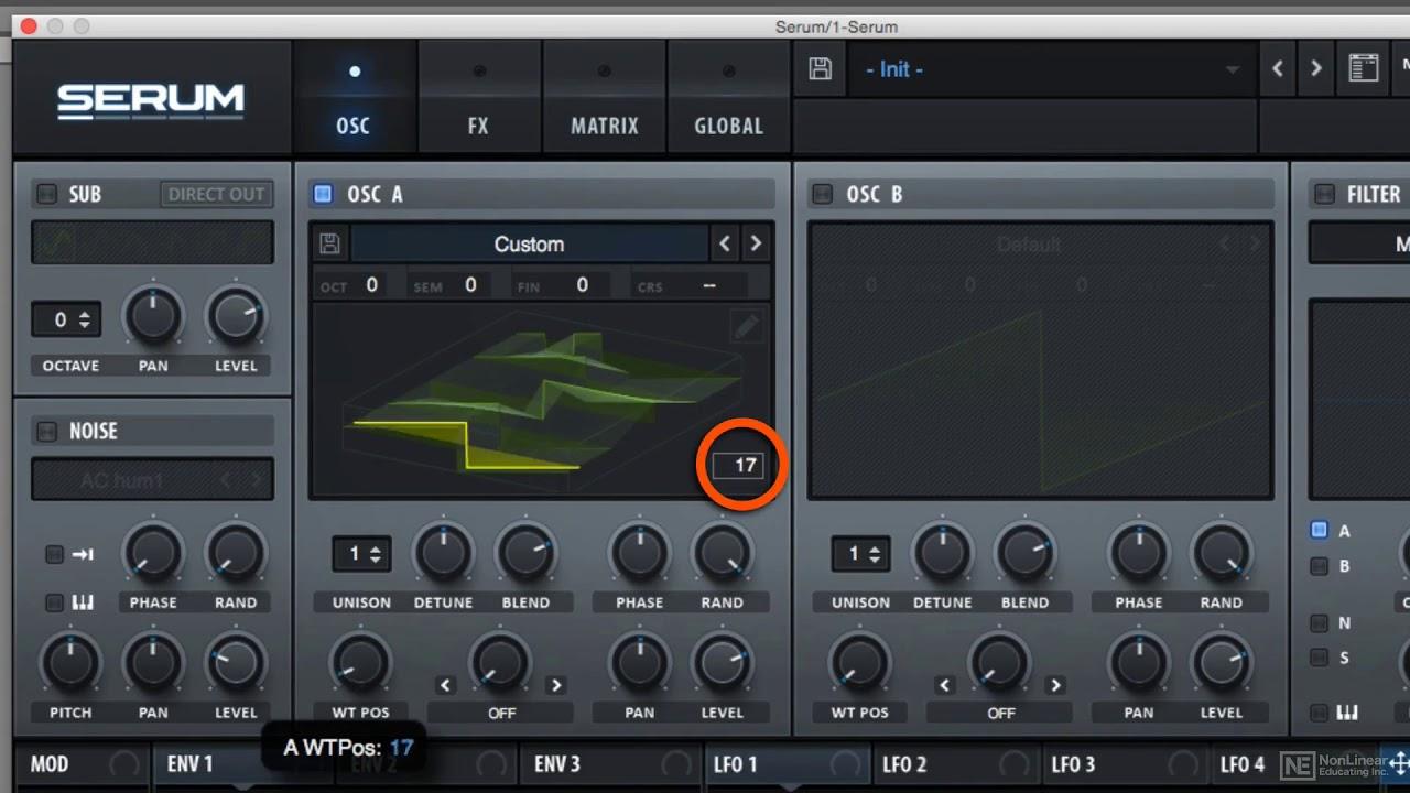 Sound Design - Tweak And Morph Multi-Cycle Wavetables In