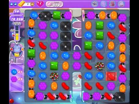 how to play level 650 candy crush