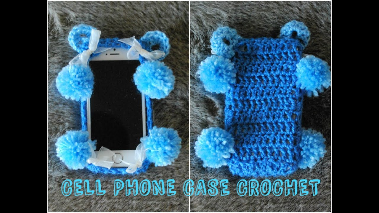 Diy iphone case blue bear crochet cell phone case youtube dt1010fo