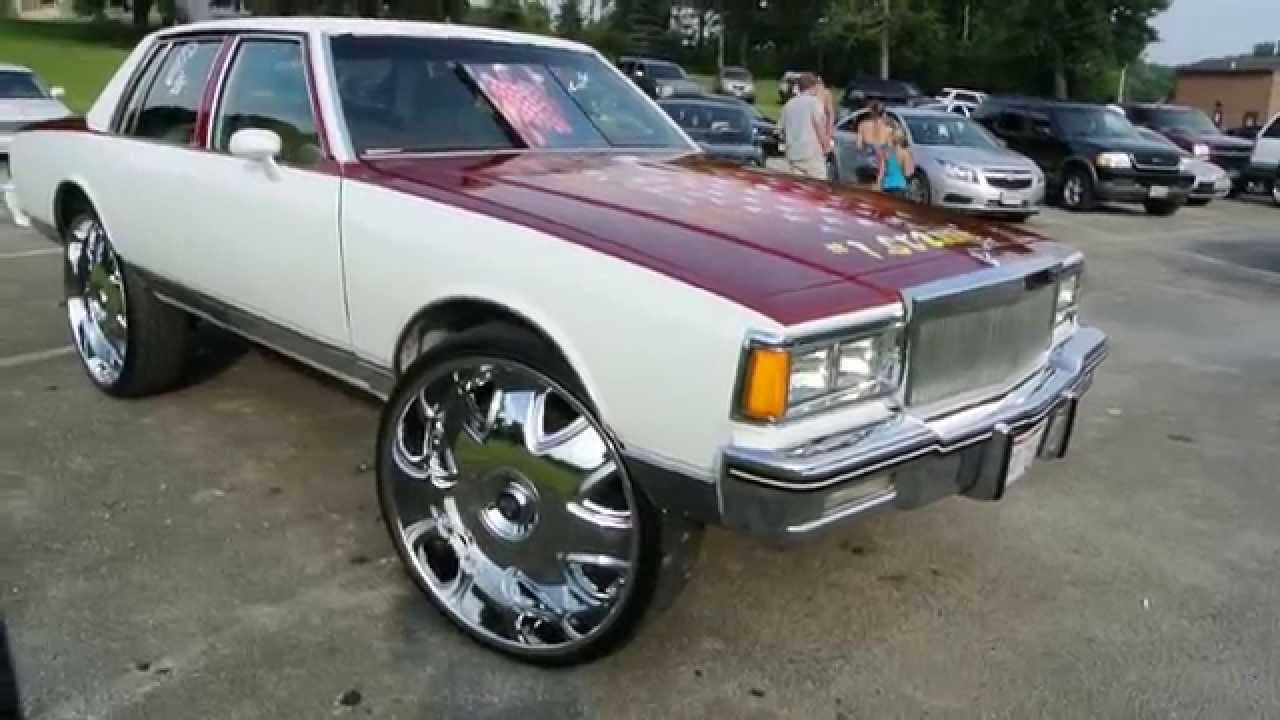 "Chevy Caprice on 30"" DUB Bandito's HD - YouTube"