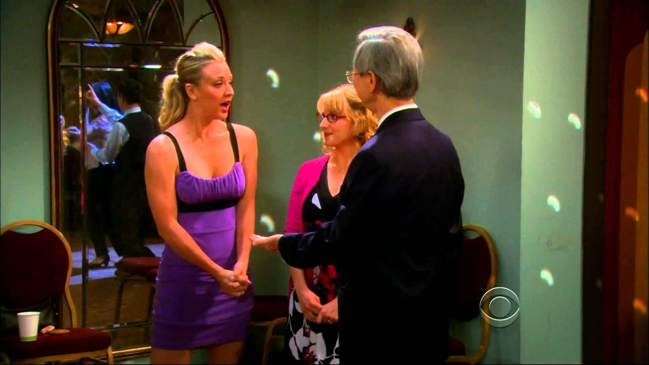 Gabriel Tsai Dancing With Kaley Cuoco The Big Bang Theory Youtube