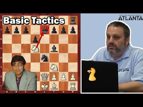 Basic Tactics with GM Ben Finegold