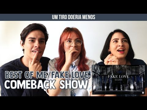 BTS - Best Of Me/FAKE LOVE (Comeback Show) - Reaction |  trêsdeoutubro