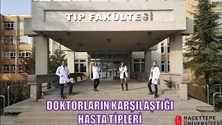 Gambar cover Doktorların Karşılaştığı Hasta Tipleri - Hacettepe Tıp iHU Proje