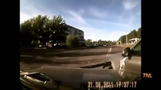 Глупые аварии с регистраторов_1часть