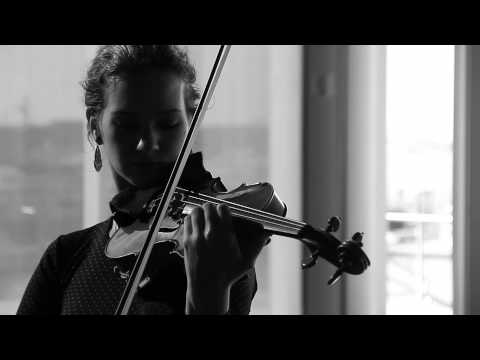 Hilary Hahn and Hauschka Instrument Interview: Violin and Piano (Sleepover Shows)