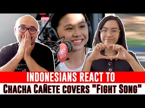 Indonesians React To Chacha Cañete covers