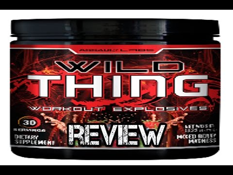 wild thing by assault labs review pre workout that makes you