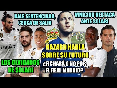 ¿IRÁ HAZARD AL REAL MADRID? | BALE, SENTENCIADO | SOLARI CRITICADO, SUS OLVIDADOS | VINICIUS BRILLA