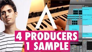 ANOMALIE  4 PRODUCERS 1 SAMPLE with Andrew Huang, Kilamanzego & Zomboy