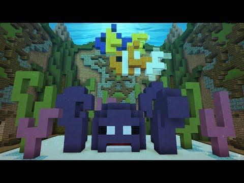 Minecraft: EU FIZ UMA CONSTRUÇÃO DE BAIXO D'ÁGUA GIGANTE!!! (BUILD BATTLE)