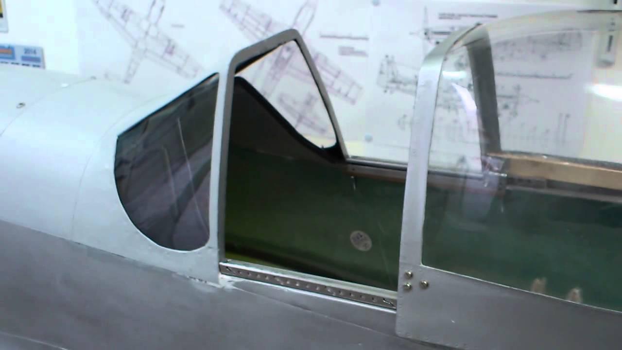 P 51 Carf Sliding Canopy Youtube