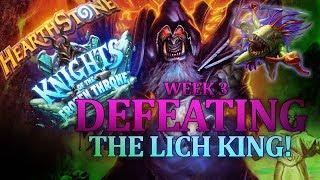 Hearthstone: The Lich King! Easy Warlock Win - Week 3
