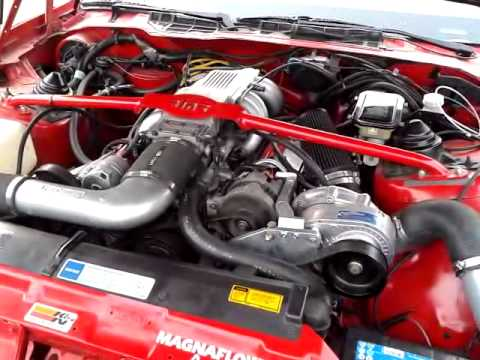 Pontiac firebirt 305tpi procharger