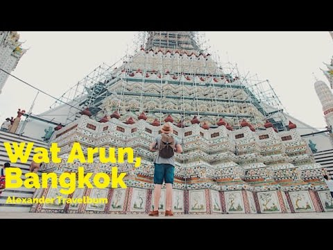 Wat Arun, Temple of The Dawn (Bangkok, Thailand)
