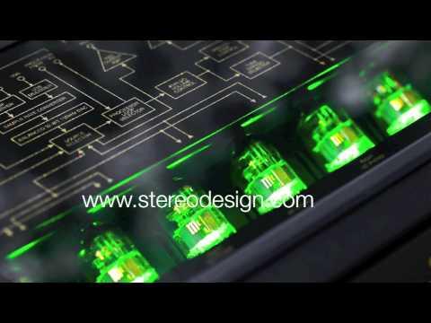 Stereo Design McIntosh C2500 Tube Preamplifier in HD