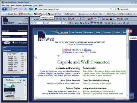 Ten Top online word processors