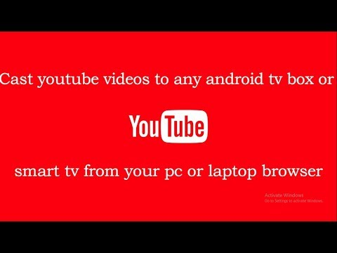 Cast youtube videos to android tv box