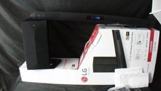 LG 2.1ch Wireless Sound Bar & Sub Woofer LAS450H 220W