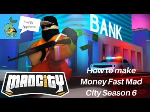 How To Get Money Fast Roblox Mad City Season 6 Youtube