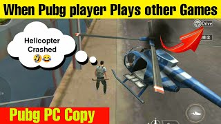 What happen when Pubg player plays other Games like Hopeless land || copy of pubg pc || New Gameplay