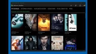 TV Show Tracker UWP for Windows - trakt.tv client DEMO