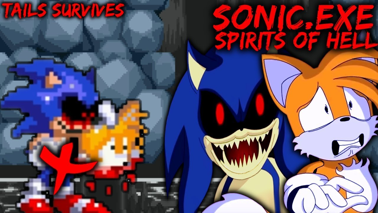 SONIC EXE: SPIRITS OF HELL [Demo] - TAILS SURVIVES (Good Choice Ending)