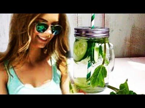 How to make Cucumber, mint, lemon, ginger detox water