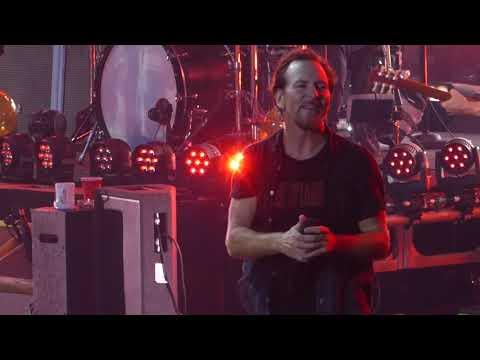 Pearl Jam - A - London O2 Arena 18th June 2018