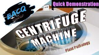 centrifugation/centrifuge machine