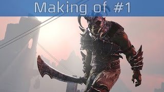 Middle-earth: Shadow of Mordor - Making of Part #1 [HD 1080P]