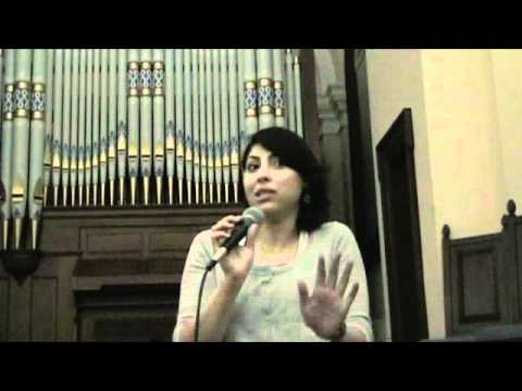 Second Generation From Neve Shalom/Wahat Al-Salam Talks At Chautauqua Institution