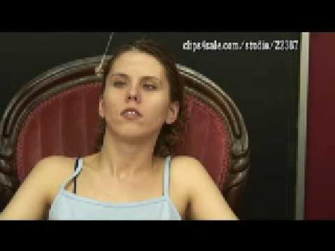 Girl hypnotized