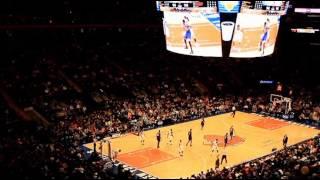 Knicks Game   Madison Square NYC 2015