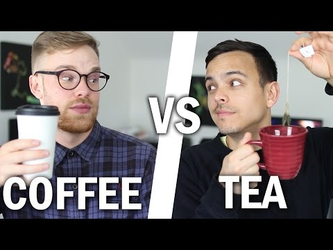Coffee vs. Tea