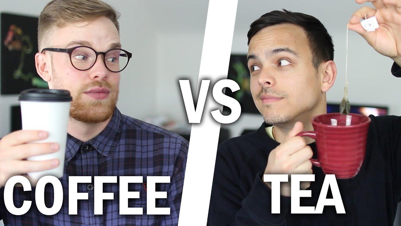 """Vaizdo rezultatas pagal užklausą """"tea vs coffee"""""""