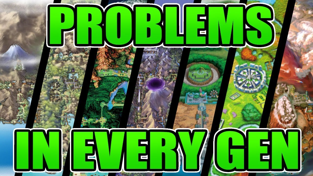 The Worst Parts of Every Pokemon Generation