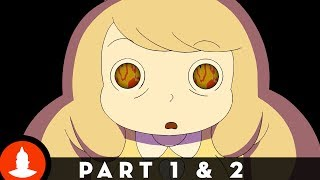 Bee and PuppyCat on Cartoon Hangover