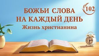 Божьи слова на каждый день   «Сущность плоти, в которой обитает Бог»   (отрывок 102)