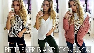 RIVER ISLAND PETITE LOOKBOOK / 3 OUTFITS