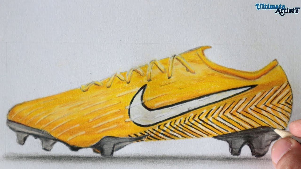 How To Draw Neymar Shoes
