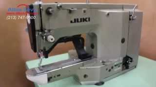 threading the Juki LK 1852 Bartack Industrial Sewing Machine