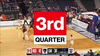 2018 U SPORTS Men's Basketball Final 8 - BRONZE CAR vs MCG