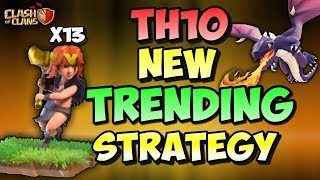 THE NEW TRENDING ATTACK OF TH10 | Clash Of Clans