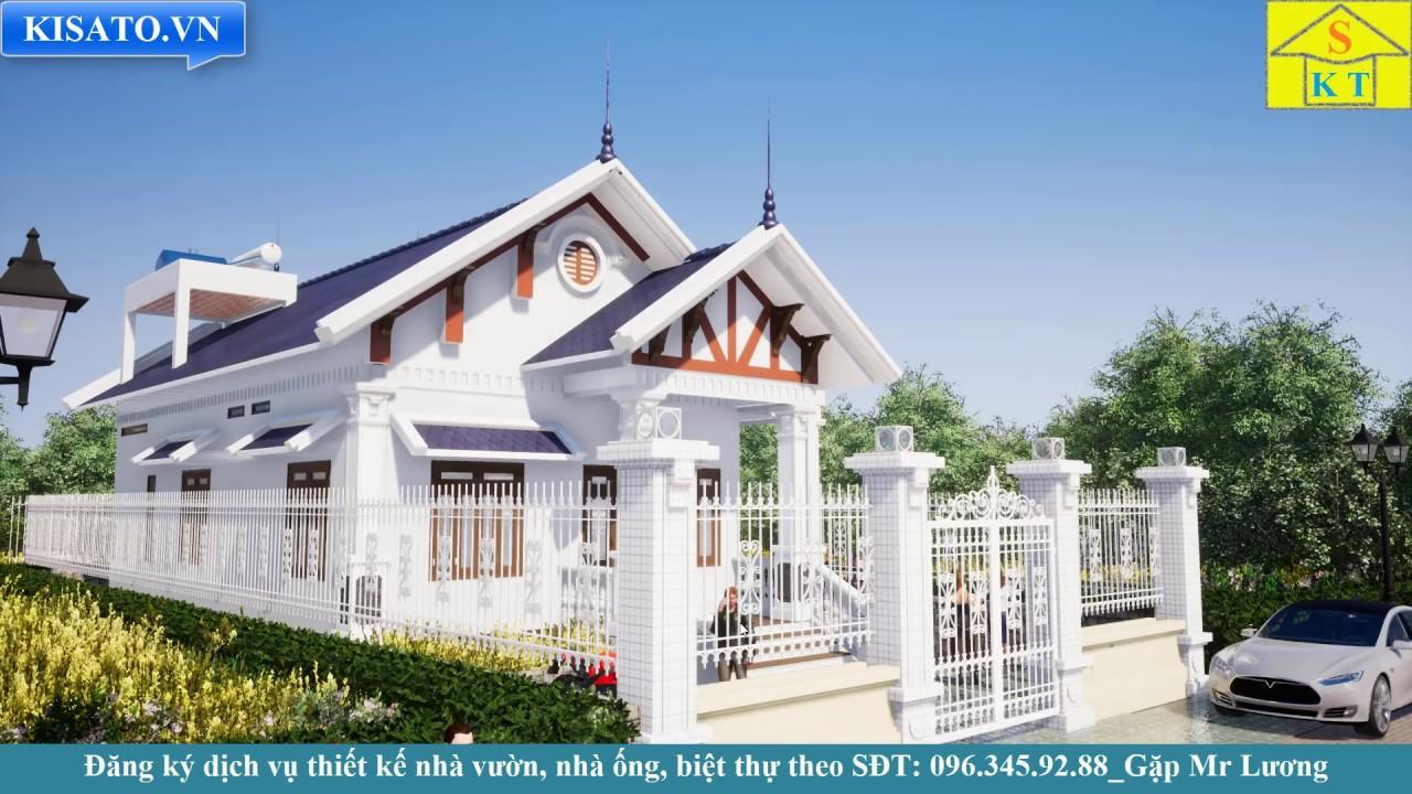 Mẫu Nhà Cấp 4 Đẹp 3 Phòng Ngủ 150m2 Tại Biên Hòa Đồng Nai
