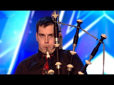 Britain's Got More Talent 2017 William The Bagpiper Wait For It Full Clip S11E04