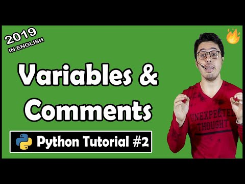 Variables & Comments in Python | Python Tutorial #2 thumbnail