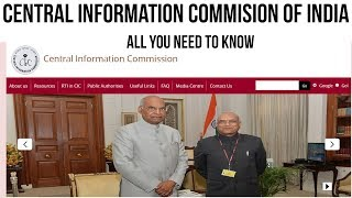 Central Information Commission of India, Role of CIC, organisational setup, appointments explained