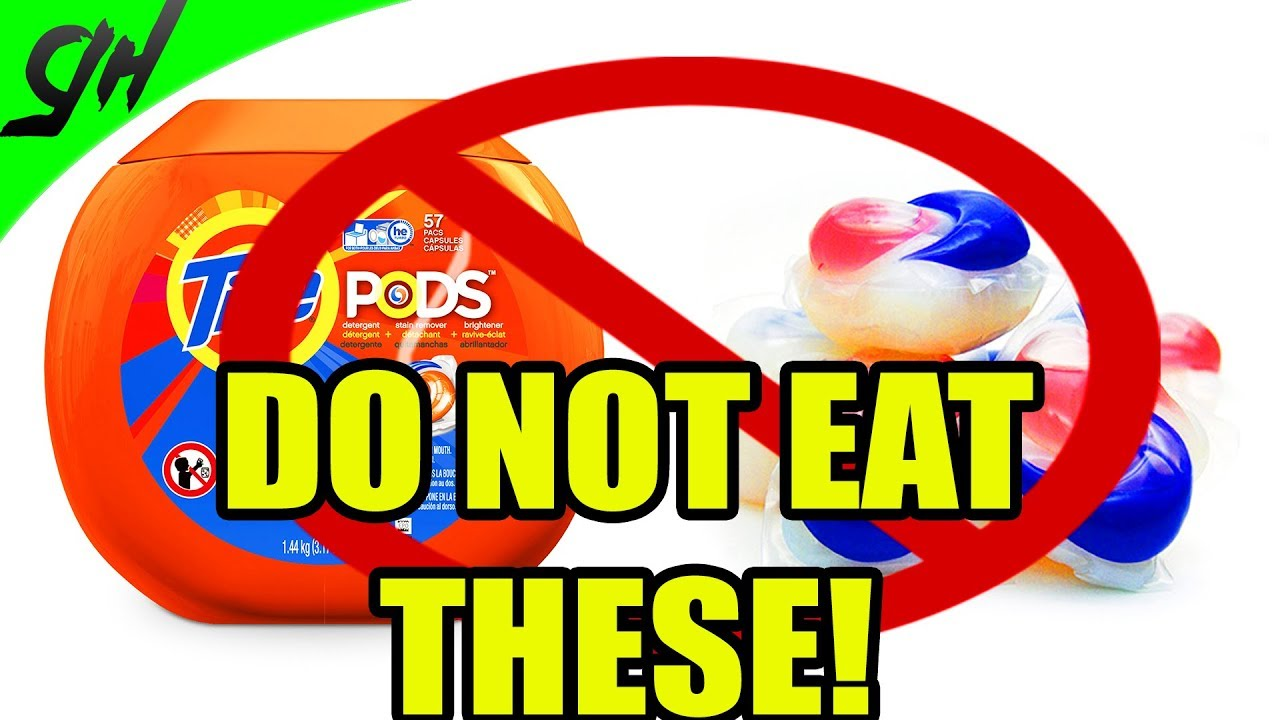 don 39 t eat tide pods ever they can kill you warning youtube. Black Bedroom Furniture Sets. Home Design Ideas